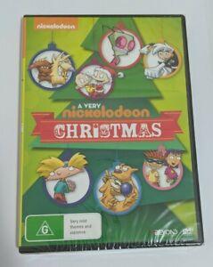 A Very Nickelodeon Christmas DVD RUGRATS DANNY PHANTOM CATDOG+MORE BRAND NEW R4