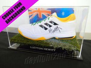 ✺Signed✺ LLEYTON HEWITT Adidas Tennis Shoe PROOF COA Australian Open 2021