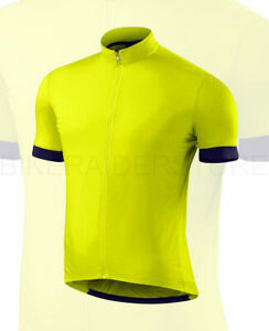 Specialized Men's RBX Sport Short Sleeve Jersey Limon / Deep Indigo - Medium