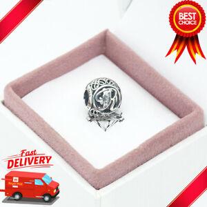 Pandora, Vintage Alphabet, Letter R, Initial, Bracelet Charm 791862CZ