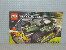 LEGO® Racers Bauanleitung 8138 Phantom Crasher ungelocht instruction B3325