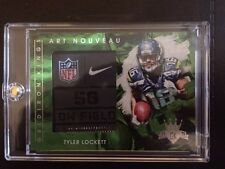 2015 Panini Gridiron Kings TYLER LOCKETT Art Nouveau Laundry Tag #1/1!!!!!