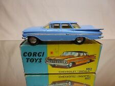 CORGI TOYS   220 CHEVROLET IMPALA   -  RARE  -  NEAR MINT  CONTITION  IN BOX