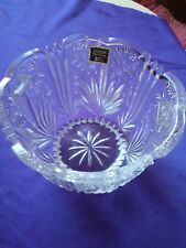 """Oneida Crystal Made in Germany 5"""" Serving Bowl W/Tag -  Condition is Excellent"""