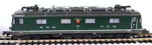 """K10174 - KATO - E-Lok RE 6/6 """"Reuchenette-Pery"""" SBB Ep. V-VI, grün"""
