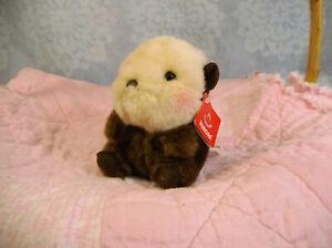 "Aurora World 5"" Rolly Pet Sea River Otter Plush"