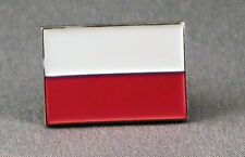Metal Enamel Pin Badge Brooch Flag Poland Polish National Flag