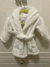 Little White Company Dressing Gown Unisex White 0-6 Months