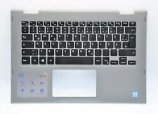 Dell Inspiron 13 5368 5378 Palmrest GERMAN Backlit Keyboard YK5M5 JCHV0 DMH2R