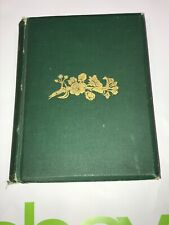 """1879 Original """"Apple Blossoms"""" by Elaine Goodale G.P. Putnam NY HB Poetry Book"""