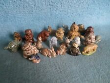 Selection of Wade Whimsie Figurines (BARGAIN)