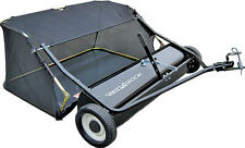 """CLEARENCE BRAND NEW 38"""" lawn sweeper leaf ride on mower ph,03)97292692"""