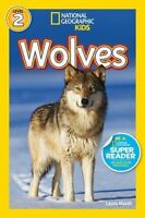 NATIONAL GEOGRAPHIC READERS Level 2 WOLVES children's NEW book picture beginner