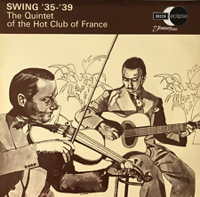 THE QUINTET OF THE HOT CLUB OF FRANCE -  Swing '35-'39 (LP) (VG+/VG)