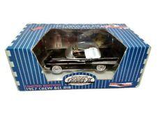Gearbox Miniature 1957 Chevy Bel Air Pédale Conduite Voiture Onyx Noir #68251