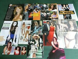 LIZ HURLEY  ACTRESS /FILM STAR- CLIPPINGS /CUTTINGS PACK