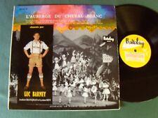 L'AUBERGE DU CHEVAL BLANC / LUC BARNEY, orch RAYMOND LEFEVRE - LP BARCLAY 80093