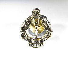 Gold Tone Pin with 1988 21st Centurion Pin