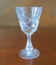 Ceska Signed Crystal Canterbury (flared stem) Sherry Cordial/ Goblet(s)