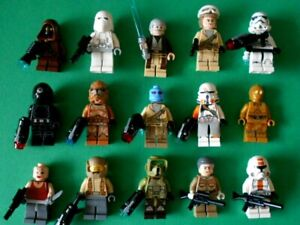 LEGO STAR WARS - LOT DE 15 FIGURINES PERSONNAGES STAR WARS - NEUF
