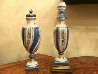 2 Antique Victorian Vase with Lid and Vase Lamp