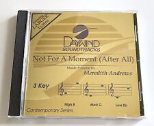 Daywind - Meredith Andrews Not for a moment (after all) - accompaniment track cd
