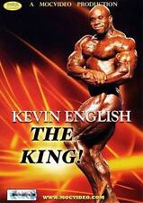 KEVIN ENGLISH THE KING! DVD new and sealed! IFBB MR OLYMPIA 212LB CHAMPION NPC