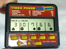 Video poker Royal flush 2000 / Radica LCD Game Electric game