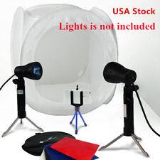 "US Photo Softbox Photography Light Tent Cube Soft Box 16""x16""x16"" 40cm White EM"