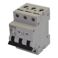 Sicherungsautomat Leitungsschutzschalter MCB 32A Typ C 3-polig 6KA 1 Stück