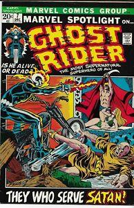 MARVEL SPOTLIGHT ON GHOST RIDER (1972 series) #7 VFN PLUS (8.25) Back Issue