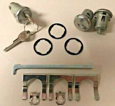 NEW 1962-1968 Chevy II & Nova Door & Trunk Lock set with Original GM keys