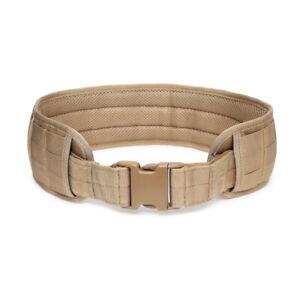 Tactical Belt MOLLE 1000D Nylon Men's Padded Waist Belt Airsoft Outdoor Hunting