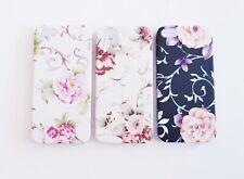 Samsung iPhone Handy cubierta Cover Funda protectora SOF case bumper motivo bolso Flores