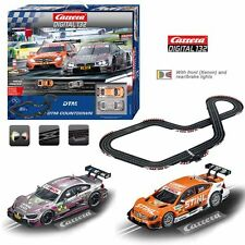 Carrera RC DTM Countdown 1/32 Digital Slot Car Set AMG Mercedes C-Coupe / BMW M4