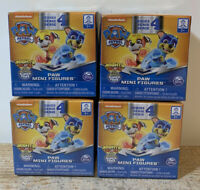 Lot of 4 Paw Patrol Pups Series 4 Paw Mini Figures Blind Box