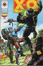 Valiant Comics X-O Manowar #25 February 1994 Bound In Armorines #0 VF
