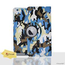 Camouflage Étui / Housse pour Apple IPAD Mini 123 / Rotatif de 360 Cuir PU /
