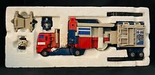 G1 powermaster optimus prime. Complete with styrofoam. Missing box. 1986