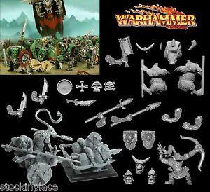 GAMES WORKSHOP Warhammer ORC BITZ  28mm Scale Bits FREE UK POSTAGE