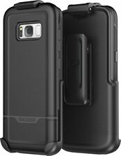 Samsung Galaxy S8 Belt Clip Holster Case, Protective Tough Case
