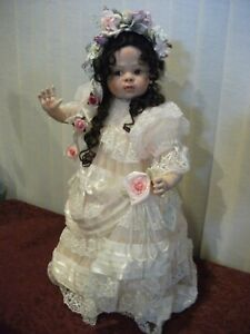 "Natalie 26"" Porcelain Doll by Fay Zah Spanos"