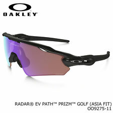 Authentic OAKLEY Radar EV Prizm OO9275-11 Polished Black/Prizm Golf (Asia Fit)