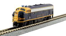 Kato 176-2128 N Santa Fe EMD F7A Cigar Band Diesel Locomotive LN/Box
