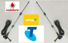 5dBi DUAL ANTENNAS FOR TELSTRA/VODAFONE 3G 4G LTE MODEMS TS9 Connector/2m cable