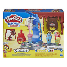 Play-Doh E6688 Kitchen Creations Drizzy Ice Cream Playset - Multicolor