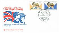 Kokos (Keeling) Inseln - Royal wedding 1981 - FDC