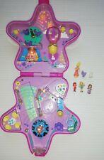 Bluebird Vintage Polly Pocket 1993 Fairy Light Wonderland Star WORKING Dolls Set
