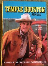 Temple Houston Annual Starring Jeffrey Hunter TV Series HC 1965/66
