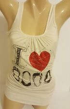 "Brand New ""I Love Shoes"" Lady's Tank Top ~ Large"